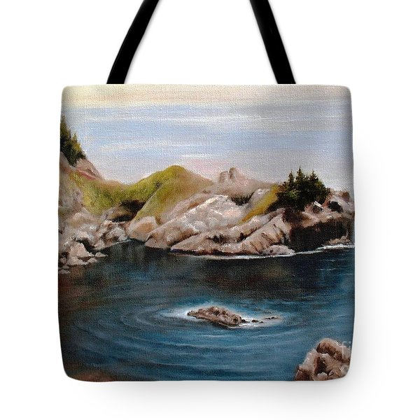 Reflections Of The Past Tote Bag by Hazel Holland