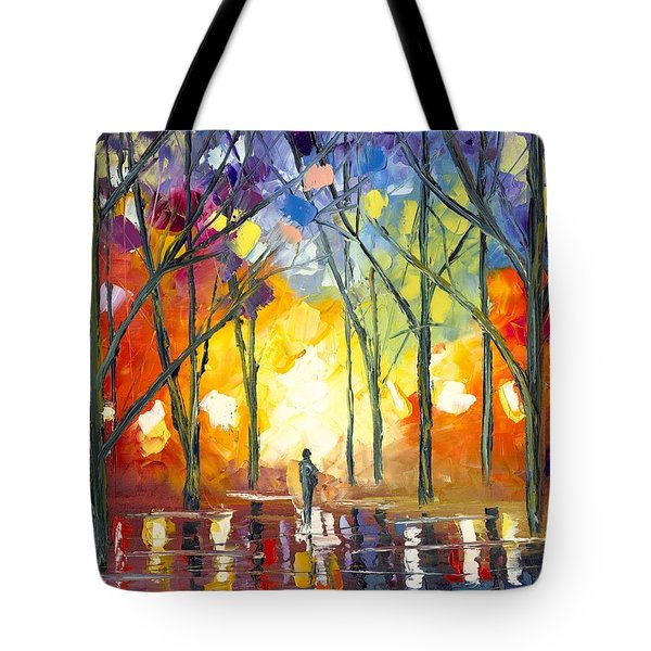 Reflections Of The Soul Tote Bag by Jessilyn Park