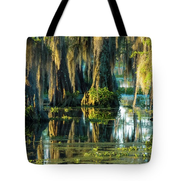 Reflections Of The Times Tote Bag