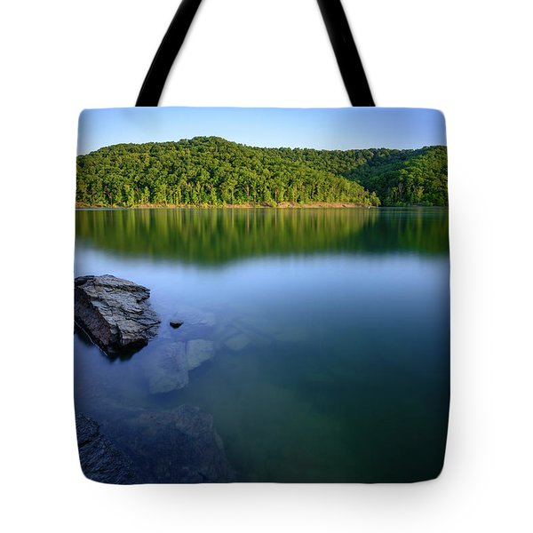 Reflections Of Tranquility Tote Bag