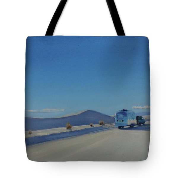 Reflections Of White Sands Tote Bag