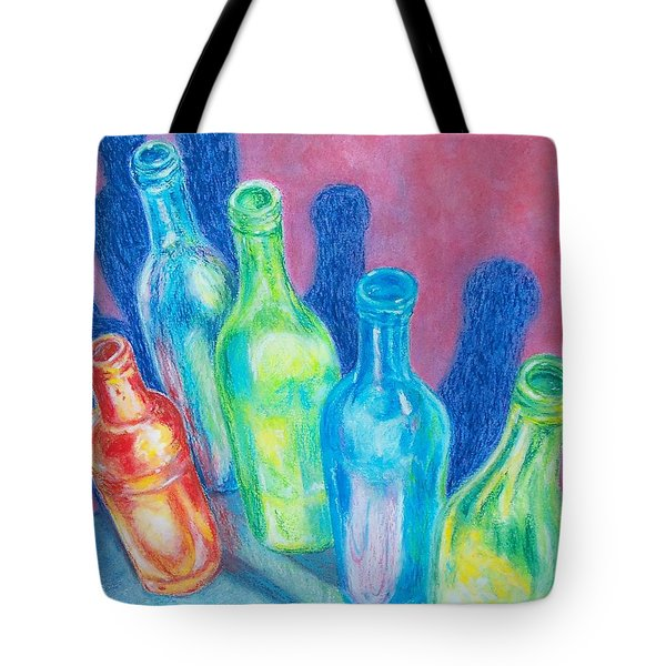 Tote Bag featuring the painting Reflections Of Yesterday by Susan DeLain