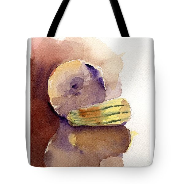 Reflections On A Winter Squash Tote Bag