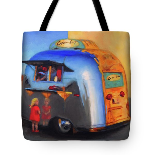 Reflections On An Airstream Tote Bag