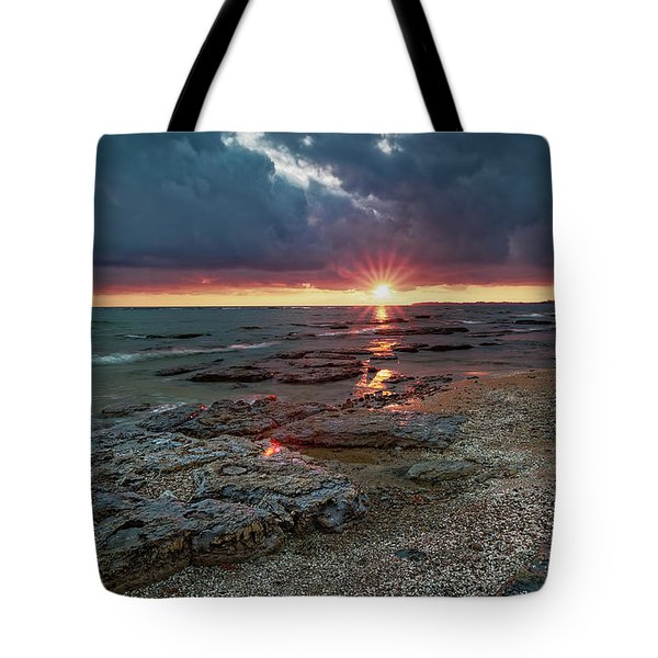 Reflections On Erie Tote Bag