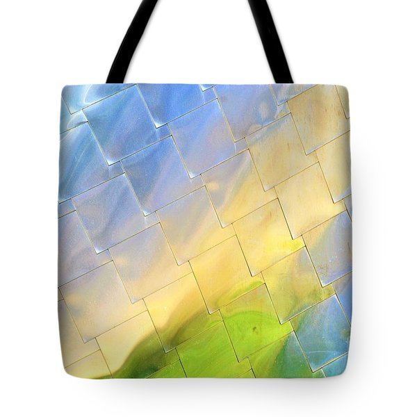 Reflections On Peter B. Lewis Building, Cleveland Tote Bag