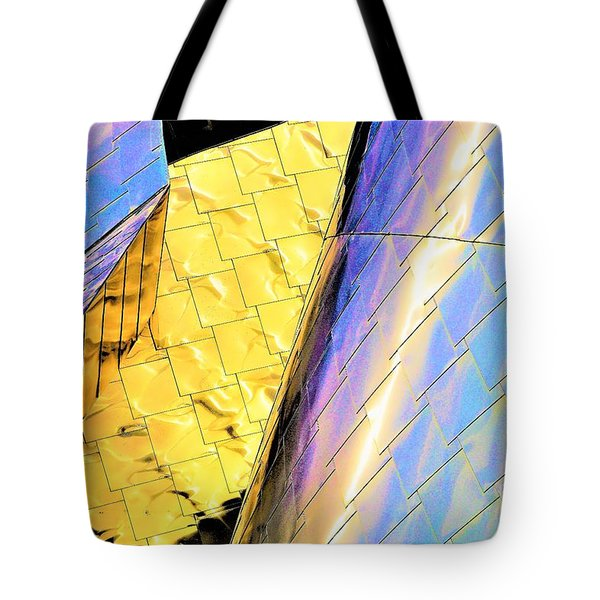 Reflections On Peter B. Lewis Building, Cleveland2 Tote Bag