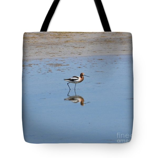 Tote Bag featuring the photograph Reflections On The Great Salt Lake by Dorrene BrownButterfield