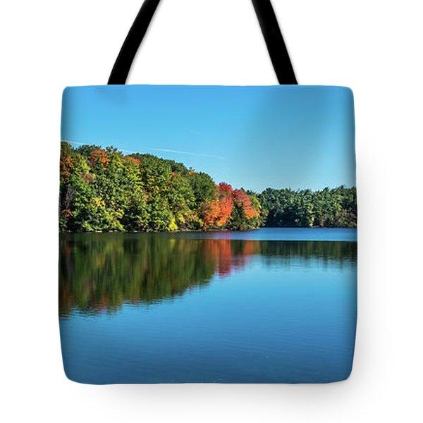 Reflections Pano Tote Bag