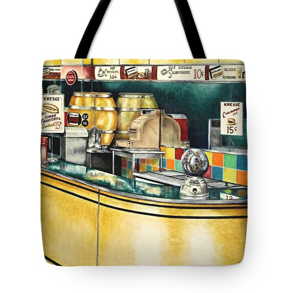 Reflections Passed Tote Bag