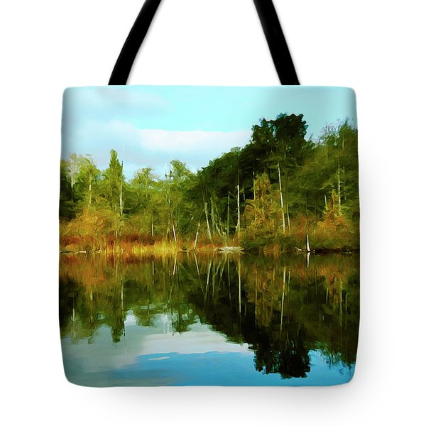 Reflections Tote Bag by Timothy Hack