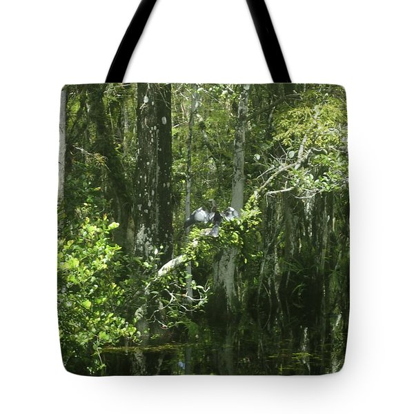 Reflections Upon The Swamp Tote Bag