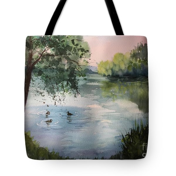 Reflections Tote Bag by Yohana Knobloch