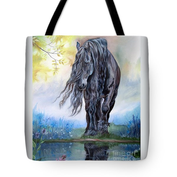Reflective Beauty Tote Bag