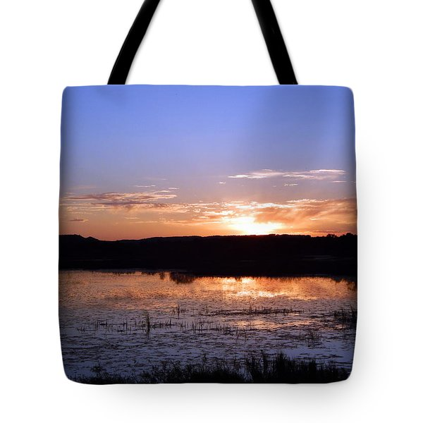 Reflective Calm Tote Bag