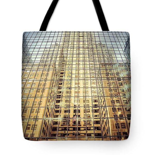 Reflective Empire Tote Bag