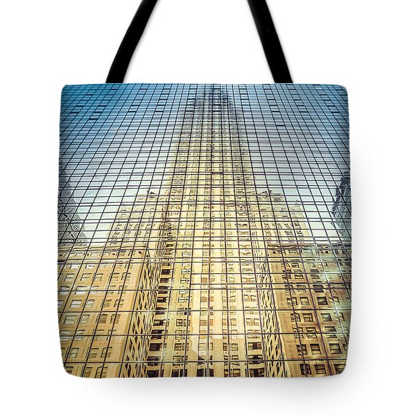 Reflective Empire Tote Bag
