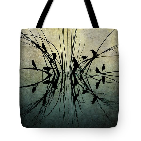 Reflective Grunge Tote Bag