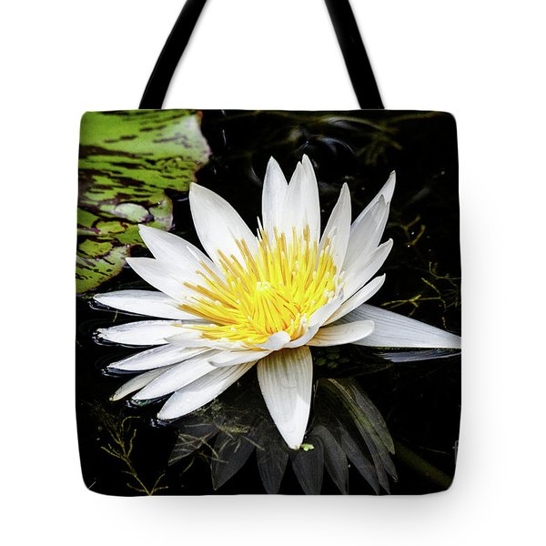 Reflective Lily Tote Bag