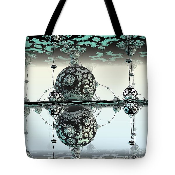 Reflective Tote Bag by Michelle H