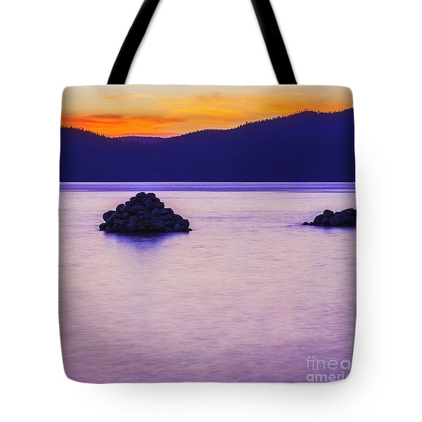 Reflective Tote Bag by Nancy Marie Ricketts