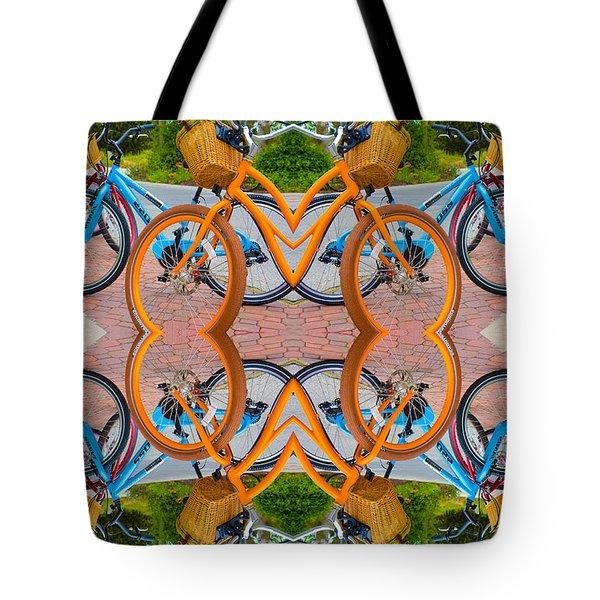 Reflective Rides Tote Bag