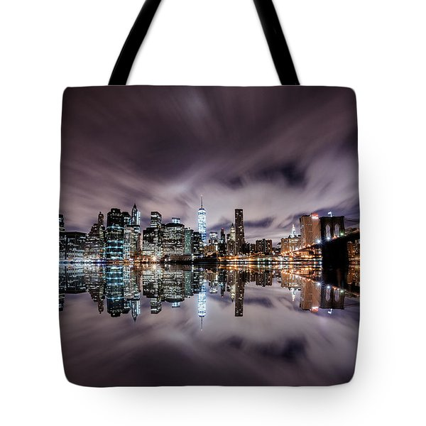Reflector Adherence  Tote Bag