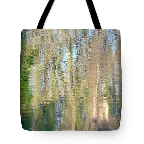 Tote Bag featuring the photograph Reflet Rhodanien Pastel 3 by Marc Philippe Joly