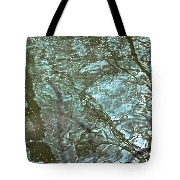Tote Bag featuring the photograph Reflets Feeriques 3 by Marc Philippe Joly