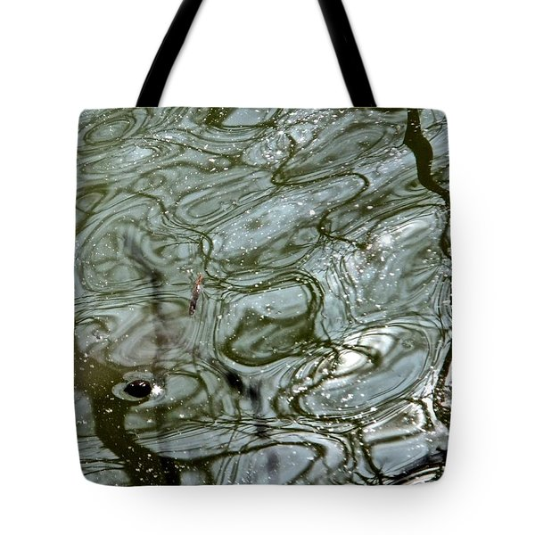 Tote Bag featuring the photograph Reflets Feeriques 5 by Marc Philippe Joly