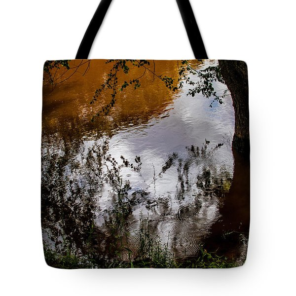 Refraction And Reflection Tote Bag