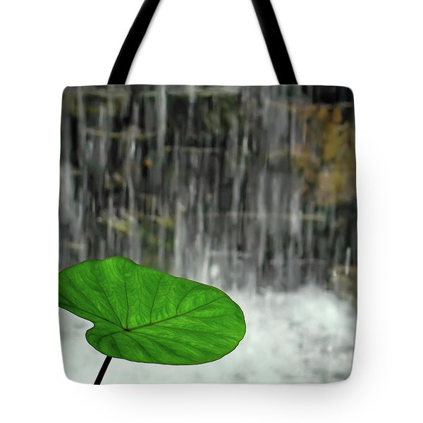 Refreshed By The Waterfall Tote Bag