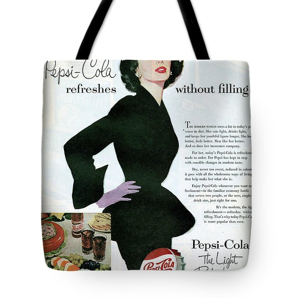 Tote Bag featuring the digital art Refreshes Without Filling by Reinvintaged