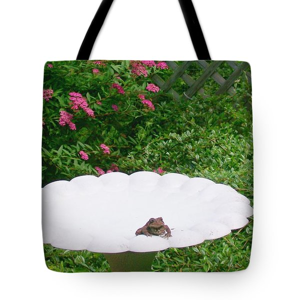 Tote Bag featuring the digital art Refreshing by Barbara S Nickerson