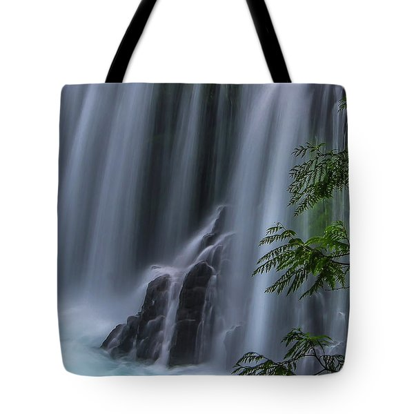 Refreshing Waterfall Tote Bag by Ulrich Burkhalter