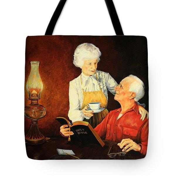 Refreshment  Break Tote Bag