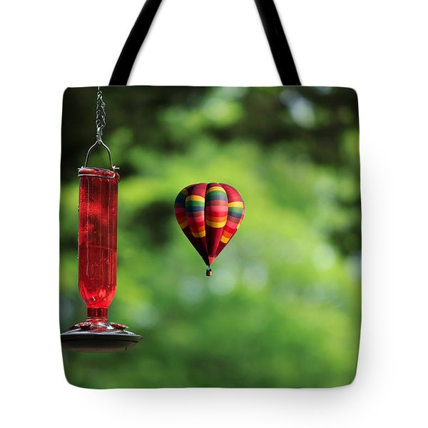 Refueling Tote Bag by Don Gradner