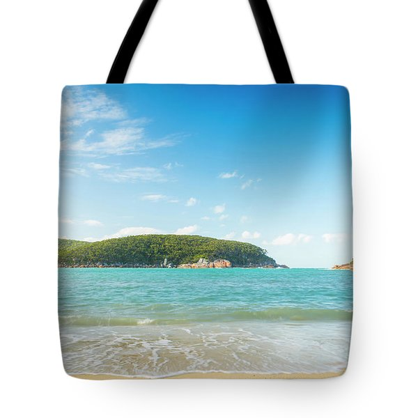 Refuge Cove Wilsons Promontory Tote Bag
