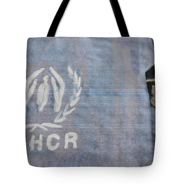 Refugees Syria Tote Bag