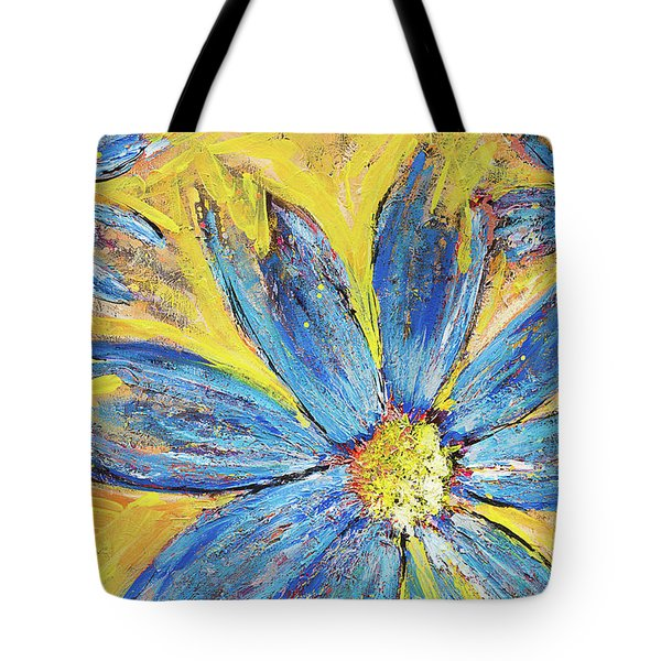 Tote Bag featuring the painting Refusing To Surrender by Annie Young Arts