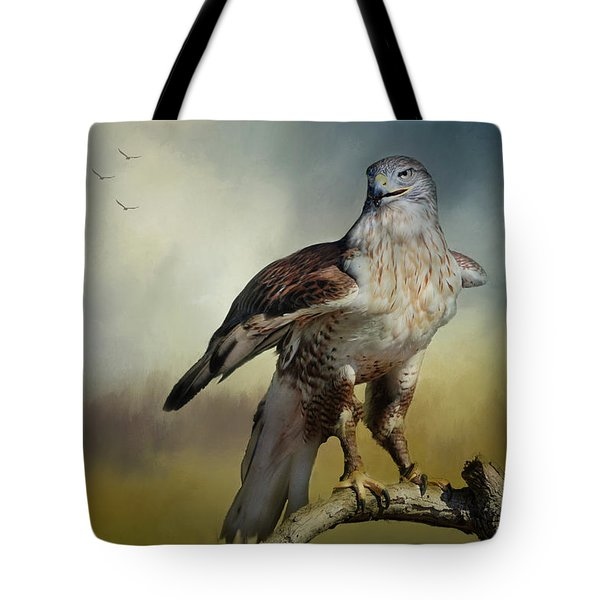 Tote Bag featuring the photograph Regal Bird by Barbara Manis