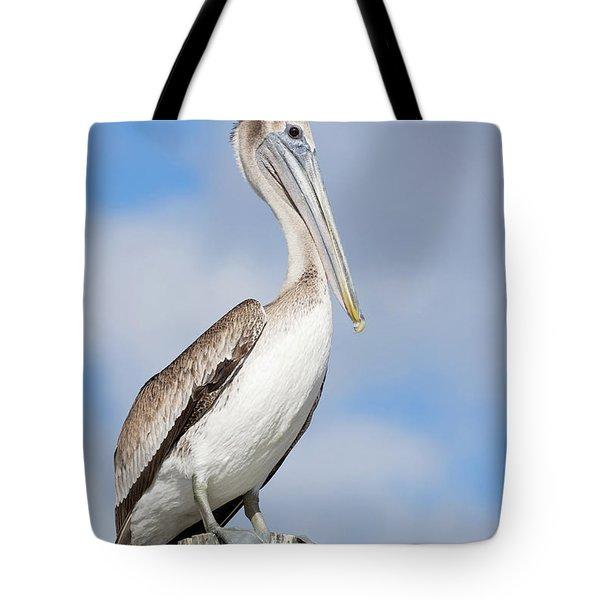 Regal Bird Tote Bag