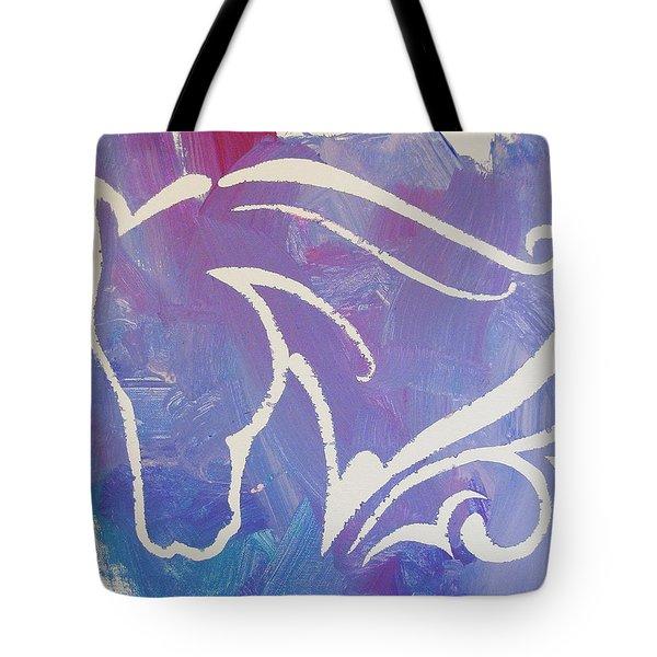 Regal Horse Tote Bag