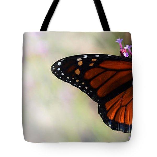 Regal Monarch  Tote Bag by Elaine Manley