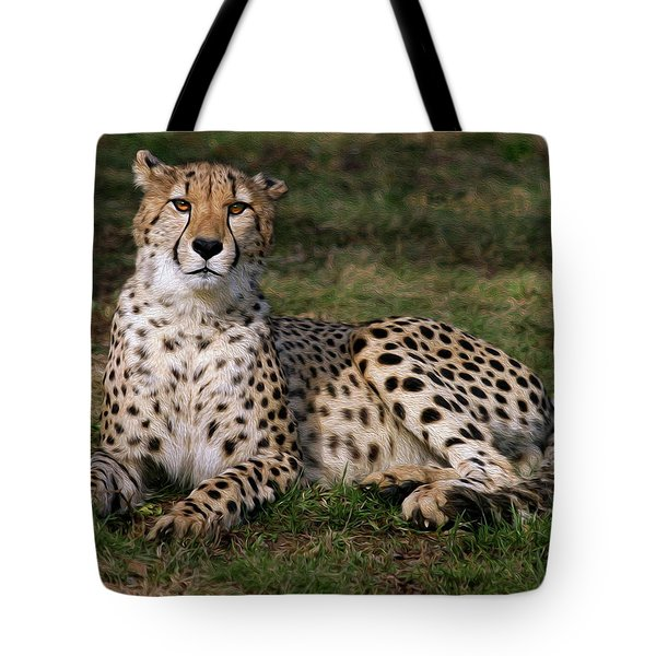 Regal Pose Tote Bag