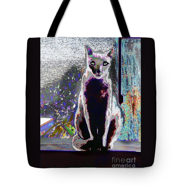 Regal Puss Tote Bag