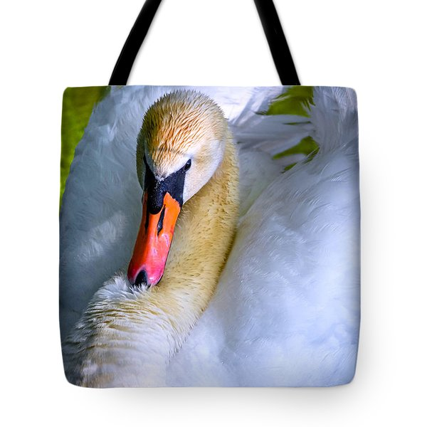 Regal Swan 2 Tote Bag