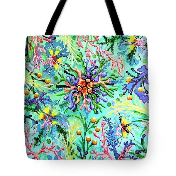 Regenerate Tote Bag by Sandra Lett