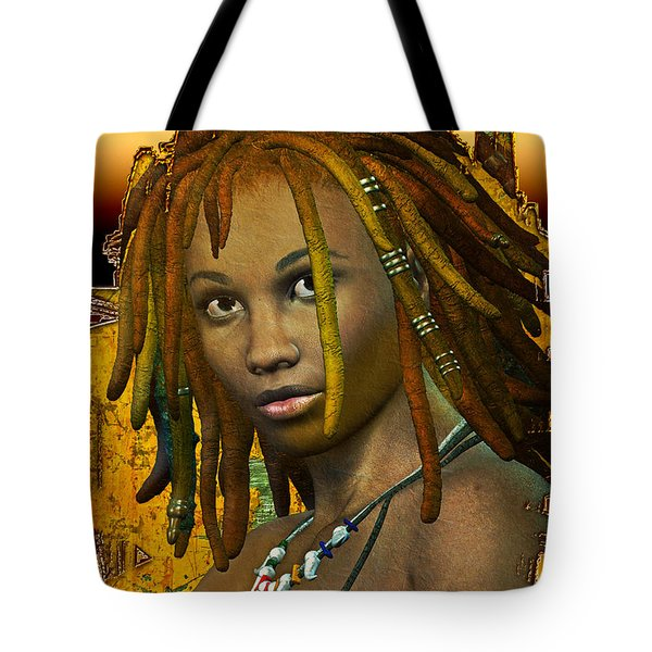 Reggae Woman Tote Bag