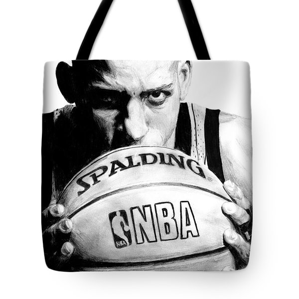 Reggie Miller Tote Bag by Tamir Barkan